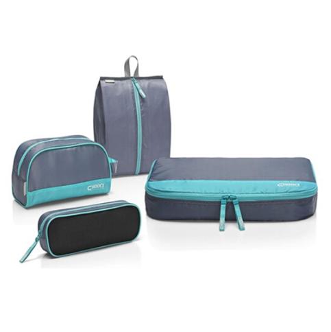 CHOOCI旅行收纳袋套装四件套旅行收纳包洗漱包 商务亚博在线登陆