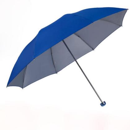 天堂伞雨伞折叠银胶防晒广告伞定做印刷LOGO印字 广告亚博在线登陆