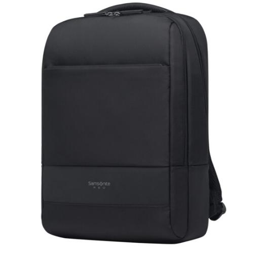 新秀丽双肩包电脑包14英寸商务旅行包BU1 黑色 商务亚博在线登陆yabovip19
