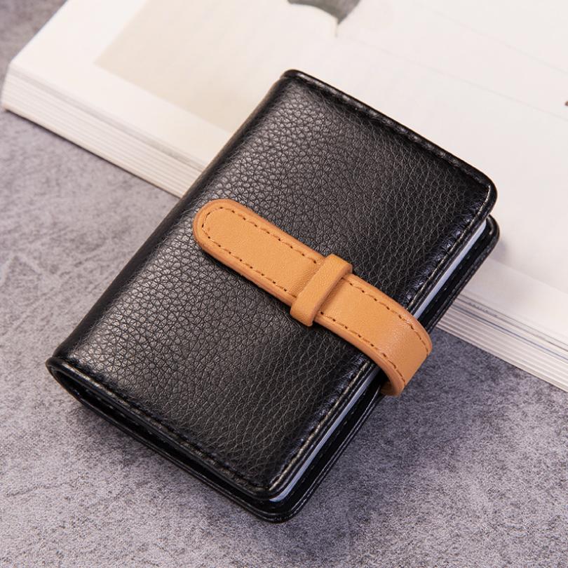 荔枝纹皮质卡包 优质PU抽带韩版银行卡包 广告亚博在线登陆yabovip19