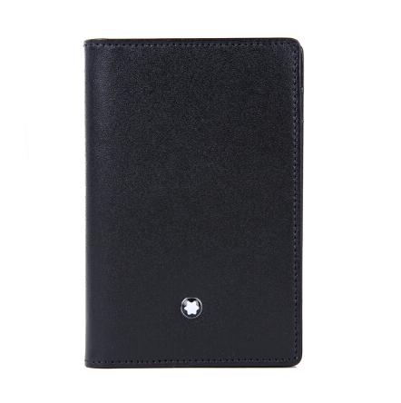 万宝龙卡包大班系列牛皮名片夹卡包14108 黑色  商务高档亚博在线登陆