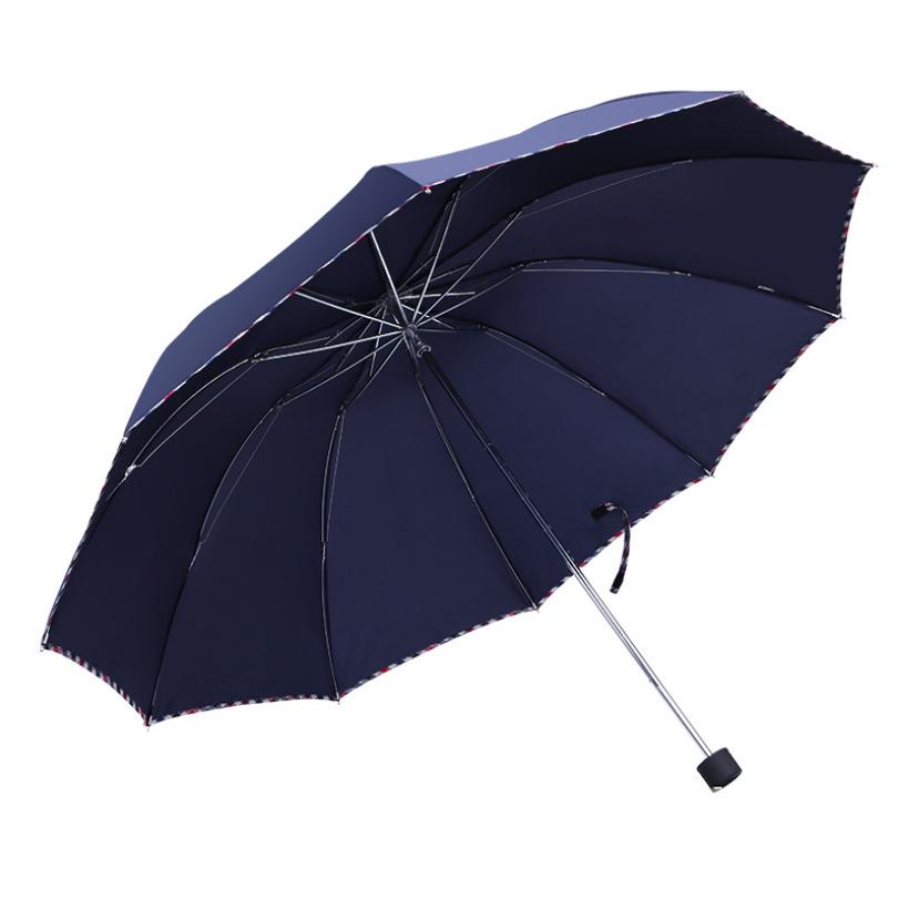 天堂伞正品3311E碰 十骨加大拒水雨伞 yabovip19LOGO广告伞