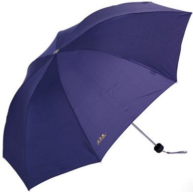 天堂伞正品 三折钢骨晴雨伞碰击布雨伞 yabovip19广告伞 展会亚博在线登陆
