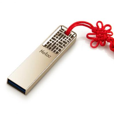 朗科64GB USB3.0 全金属高速迷你镂空设计中国风 商务亚博在线登陆