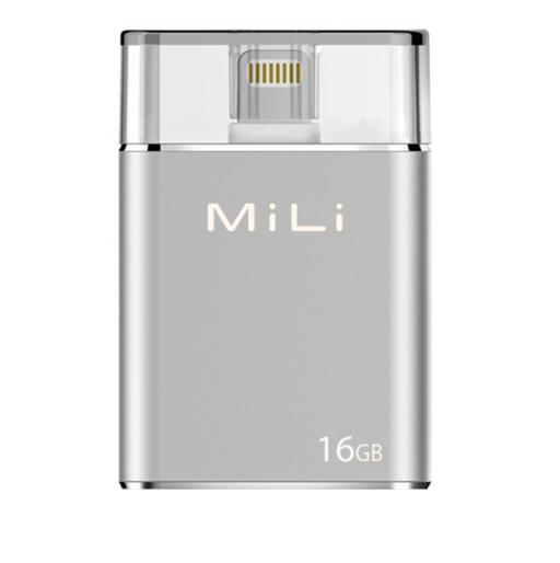 MiLi 苹果手机U盘16G加密MFi认证U盘 3.0高速传输 亚博在线登陆yabovip19