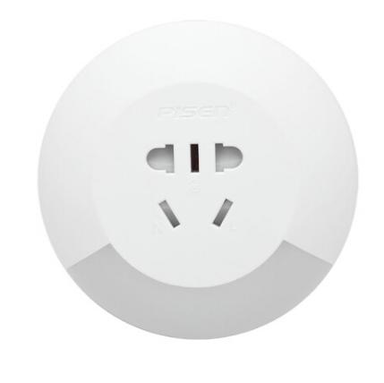 品胜小夜灯插座带开关led光控感应二合一节能墙插 亚博在线登陆yabovip19