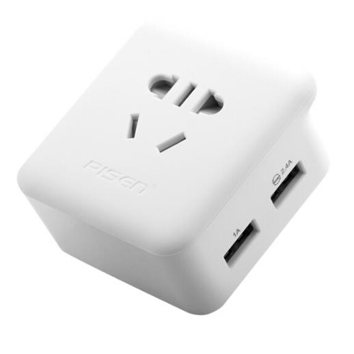 品胜双USB充电插口 墙插接线板插排智能插座  亚博在线登陆yabovip19