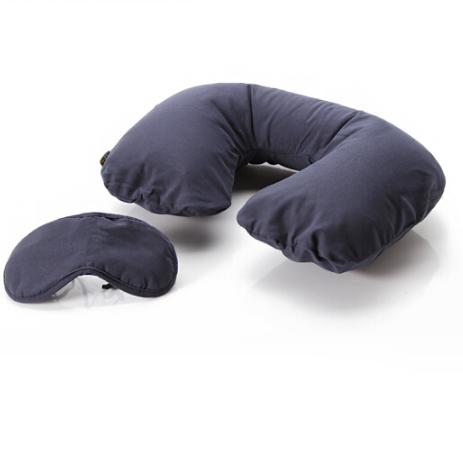 英国高品质充气u形枕眼罩套装头护颈枕脖子飞机枕 亚博在线登陆yabovip19