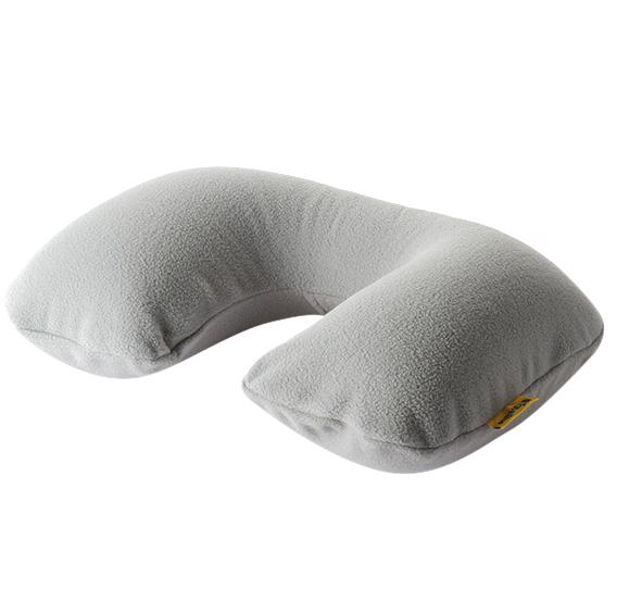 高品质充气U形枕旅行枕棉质天鹅绒吹气旅游护颈枕 亚博在线登陆yabovip19