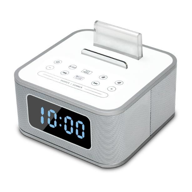 蓝牙闹钟音箱床头多功能U盘播放USB手机支架音响 亚博在线登陆yabovip19