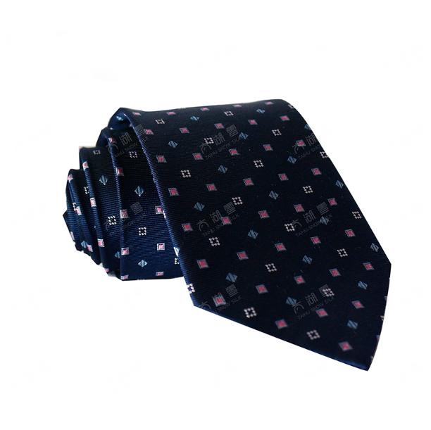 太湖雪新款桑蚕丝商务正装领带真丝领带织logo 商务活动亚博在线登陆赠送