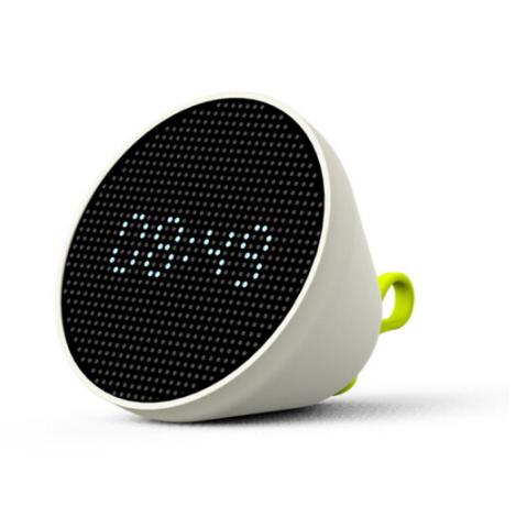 风格派多功能翻翻灯触摸拍多功能闹钟小夜灯印logo 送客户亚博在线登陆