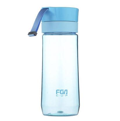 富光塑料杯便携提绳时尚茶隔泡茶过滤水杯500ML 广告亚博在线登陆yabovip19