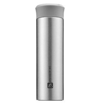 司顿 STY126SG真空随手杯保温杯银色350ML印Logo 展会亚博在线登陆