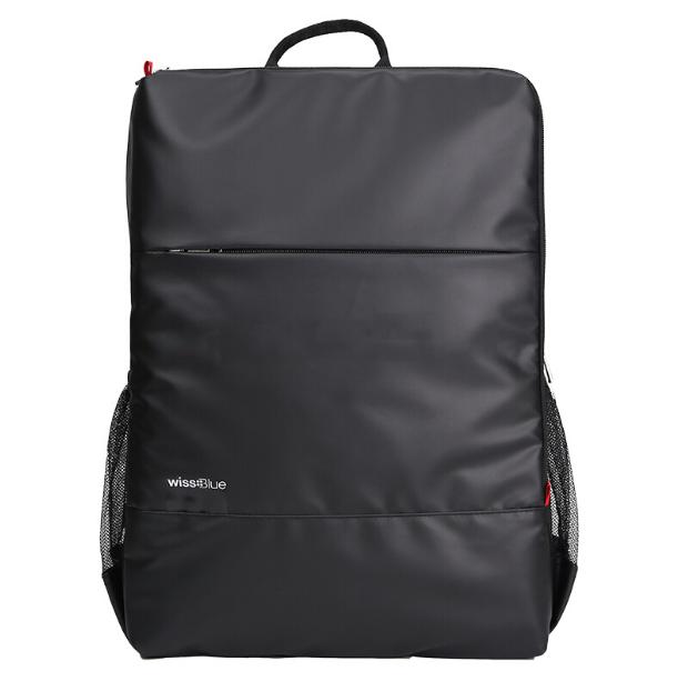 维仕蓝商务背包休闲运动双肩电脑包WB1171-BK 企业活动亚博在线登陆