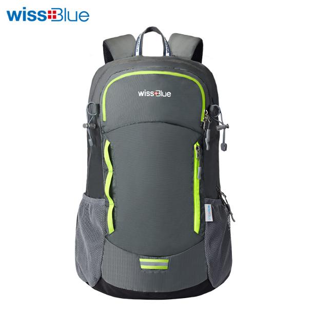 维仕蓝登山包大容量35L户外双背包旅行休闲包 企业亚博在线登陆团购