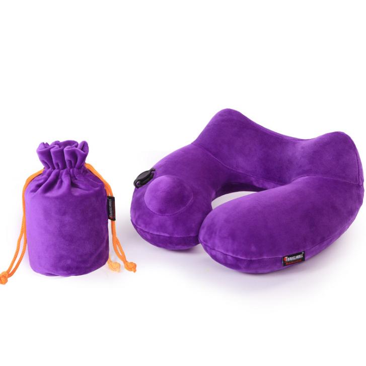 按压u型充气枕旅游旅行护颈椎午睡枕便携充气枕 医疗展会亚博在线登陆