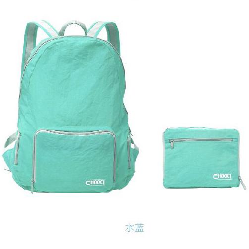 CHOOCI超轻折叠背包防水动感时尚设计便携 展会活动亚博在线登陆yabovip19