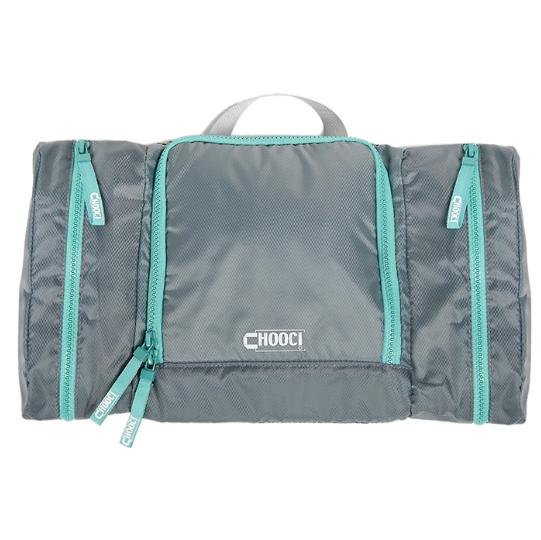 轻薄双侧袋平铺洗漱包收纳包大容量主袋分隔设计防水 亚博在线登陆yabovip19
