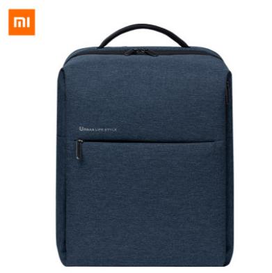 小米双肩包简约休闲多功能笔记本电脑包旅行背包 活动展会亚博在线登陆