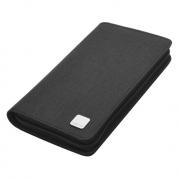 商务旅行手包男女多功能卡包护照包 办公证件包 亚博在线登陆yabovip19