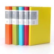 彩色资料册20/30/40/页透明插页袋yabovip19文件夹 亚博在线登陆yabovip19