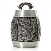 茶叶罐锡罐纯锡器密封茶罐高档 实用企业商务 亚博在线登陆yabovip19
