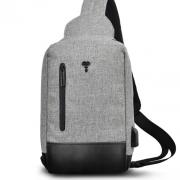 恒源祥 多功能商旅运动胸包 单肩包 HYX0219 亚博在线登陆yabovip19
