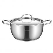 美的TG24S5汤锅 304不锈钢锅具三层汤炖锅24cm 银行积分亚博在线登陆