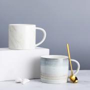 湖畔居 创意陶瓷杯 马克杯 咖啡杯 企业亚博在线登陆yabovip19
