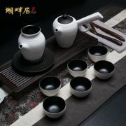 湖畔居 茶具整套 功夫茶具套装 陶瓷套装 上海亚博在线登陆公司