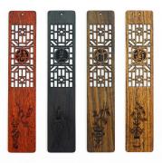 红木书签yabovip19 创意中国风 木质工艺品 文创亚博在线登陆yabovip19