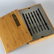 清朴堂-府宴 黑酸枝纯钛圆筷子 尊贵奢侈收藏 亚博在线登陆yabovip19