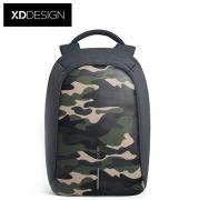 XDDESIGN 城市安全迷彩版 商务防盗双肩包  亚博在线登陆yabovip19