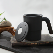 乐扣乐扣 480ml 陶瓷杯 泡茶杯 办公杯 商务亚博在线登陆yabovip19