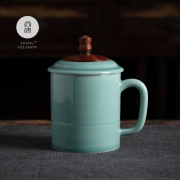 龙泉青瓷 茶具亚博在线登陆 节节高升杯 陶瓷杯 企业亚博在线登陆yabovip19