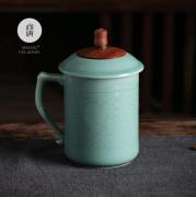 尚唐 龙泉青瓷茶杯 陶瓷杯 随手杯 教师节亚博在线登陆 送客户亚博在线登陆