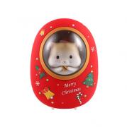黄油猫仓鼠太空舱暖手宝充电宝二合一 圣诞节亚博在线登陆yabovip19