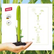 甘蔗旋转德国环保可降解办公签字笔水笔碳素笔 企业亚博在线登陆yabovip19